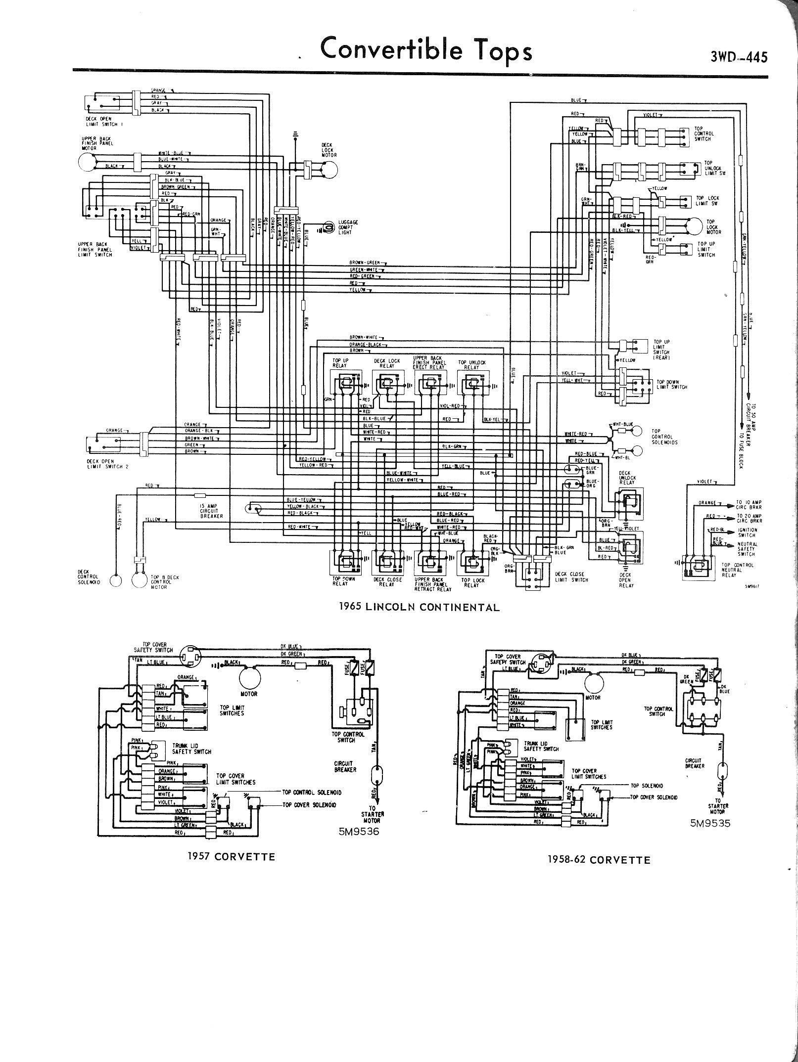 1957 chevy starter wiring diagram