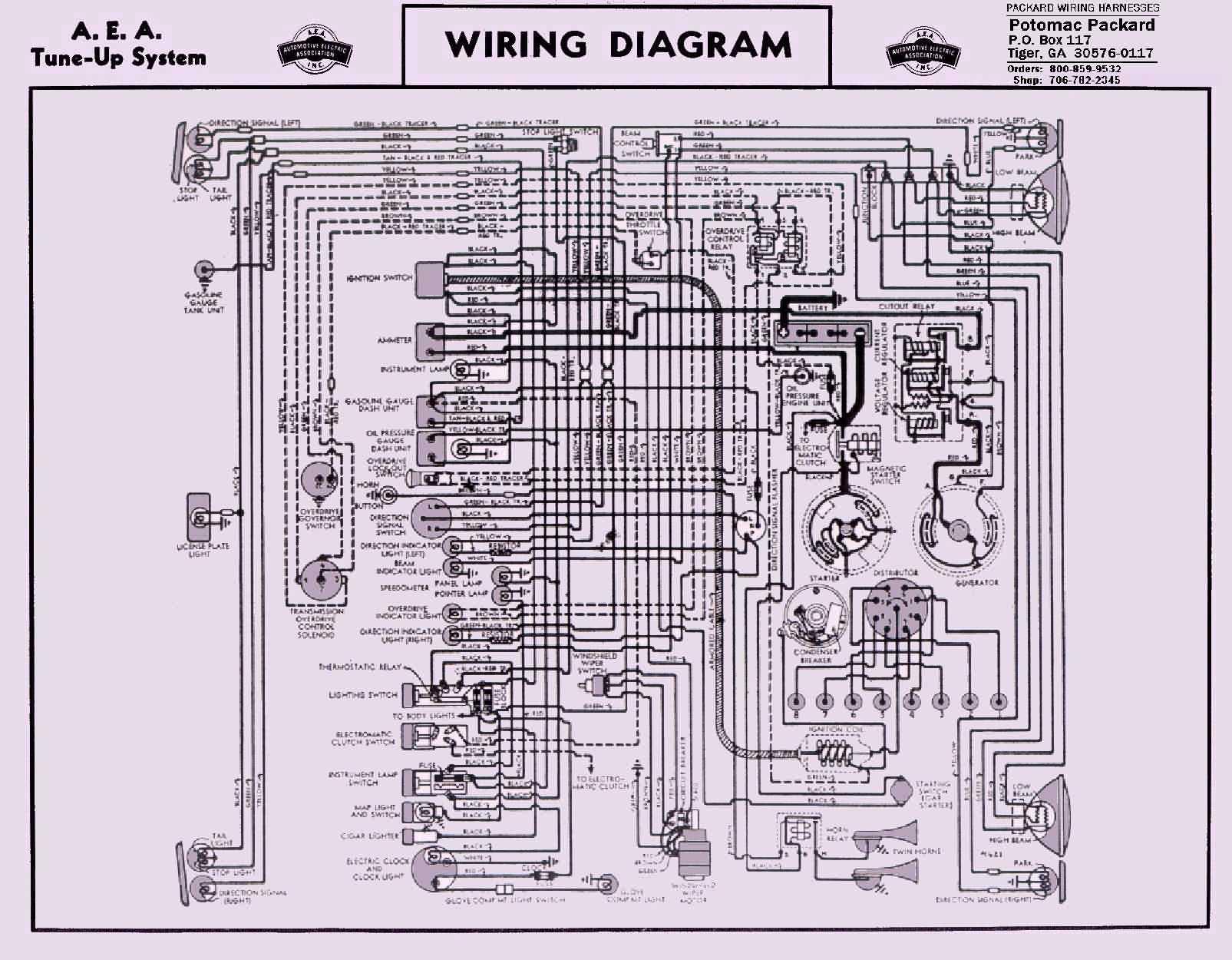 1946 packard clipper wiring diagram 1944 packard clipper