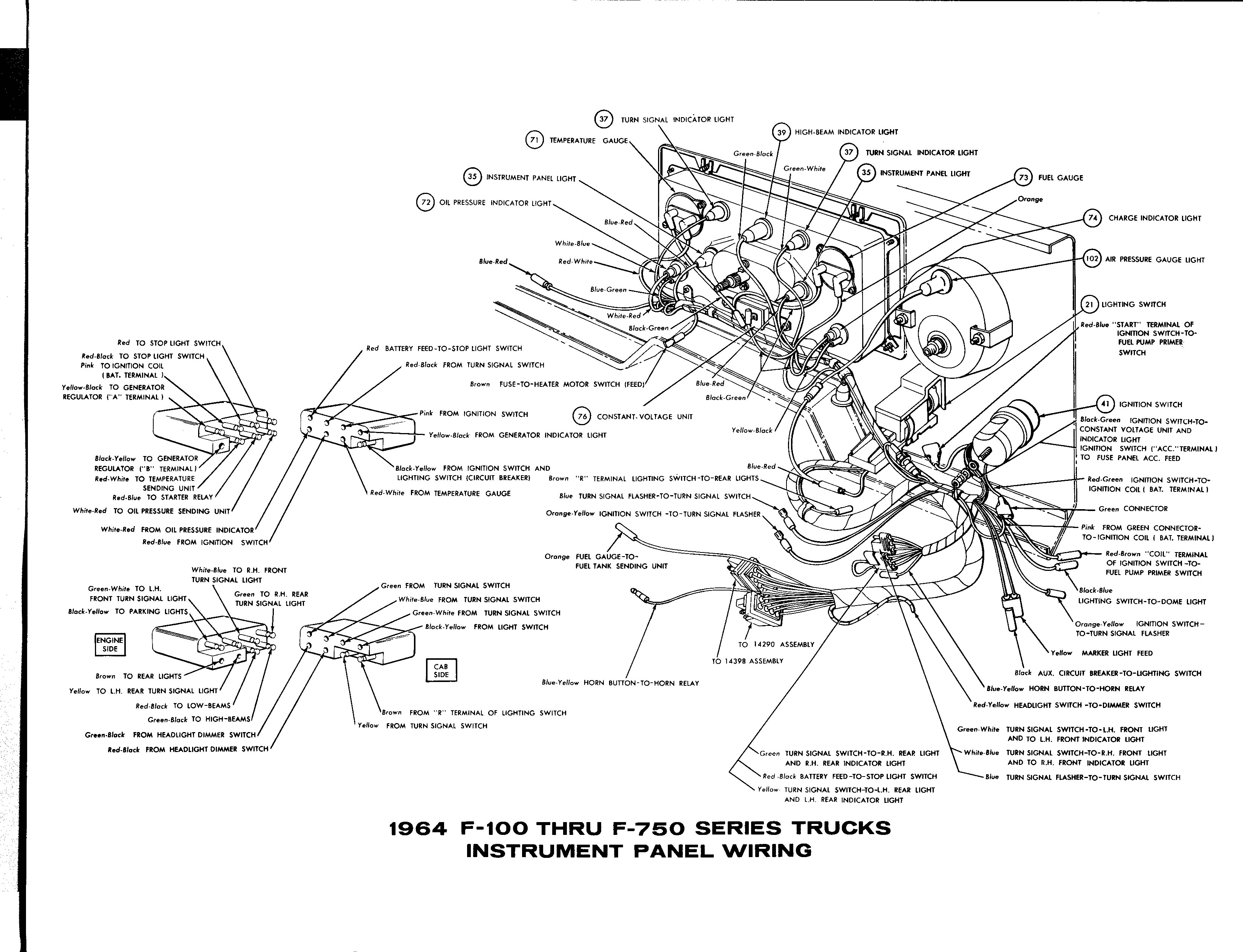78 ford truck engine diagram