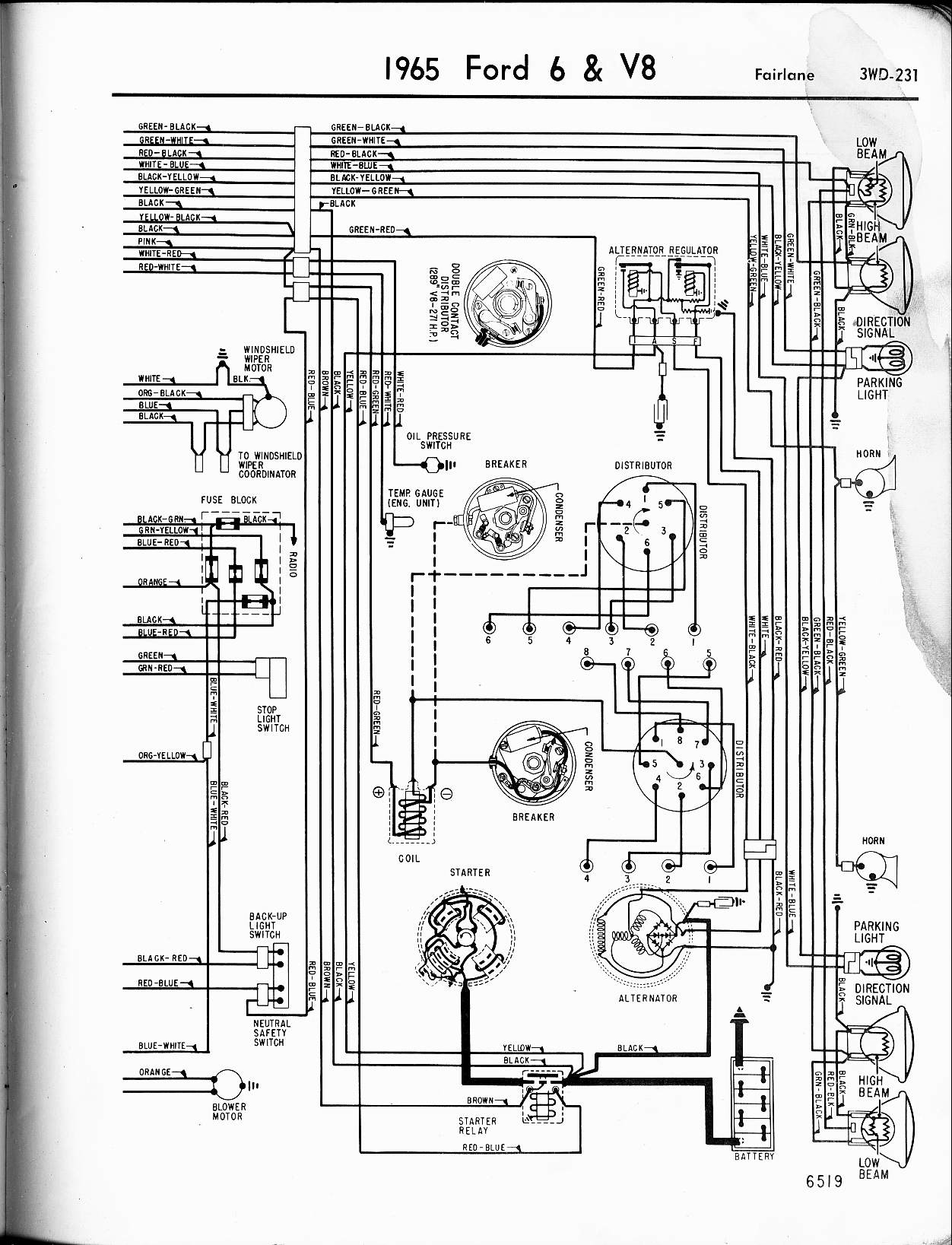 1965 el camino door diagram wiring schematic