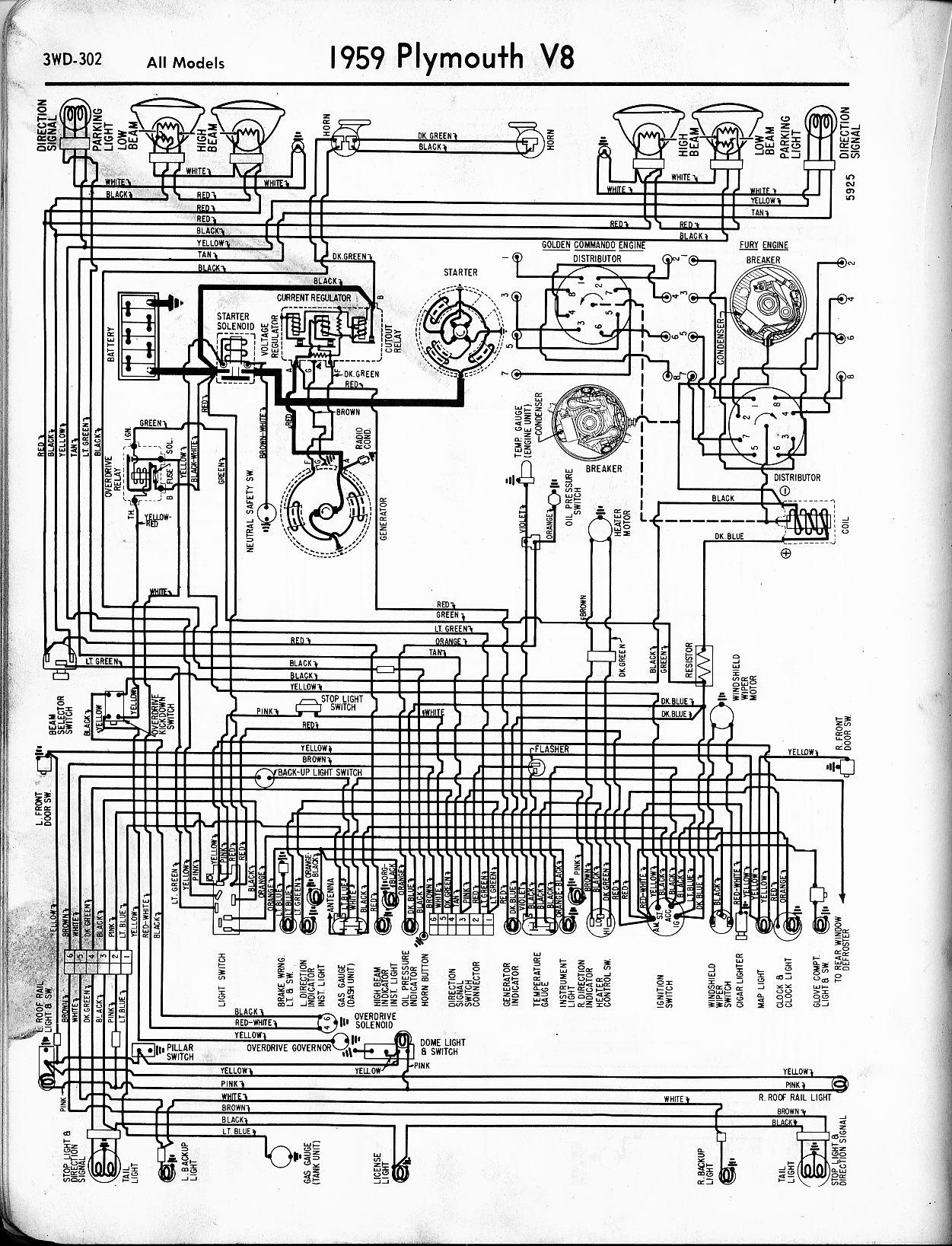 plymouth wiring schematics