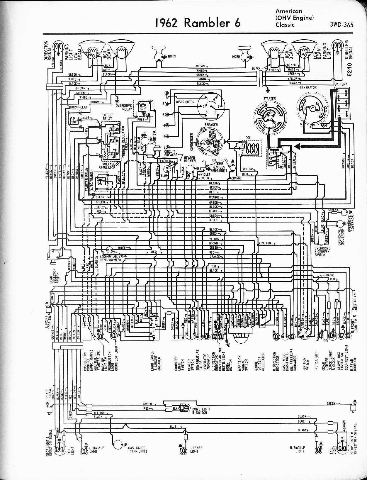 64 rambler wiring diagram