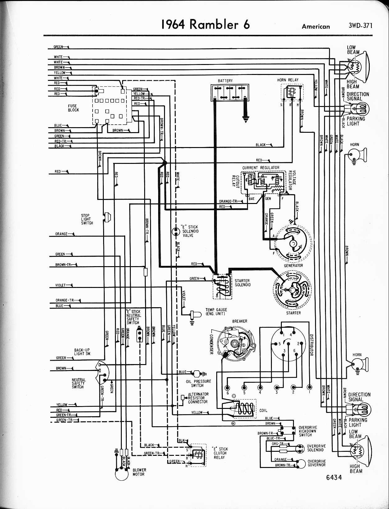 1960 rambler american wiring diagrams