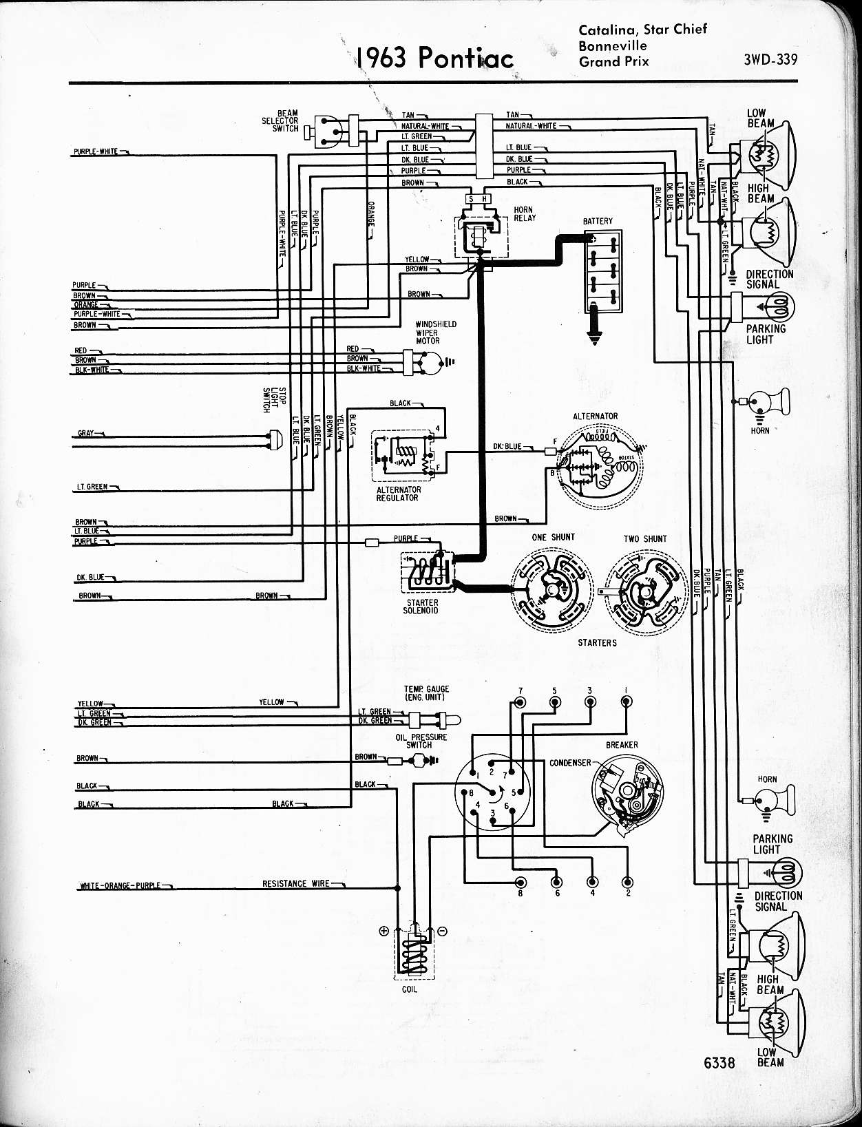 1957 pontiac wire diagram