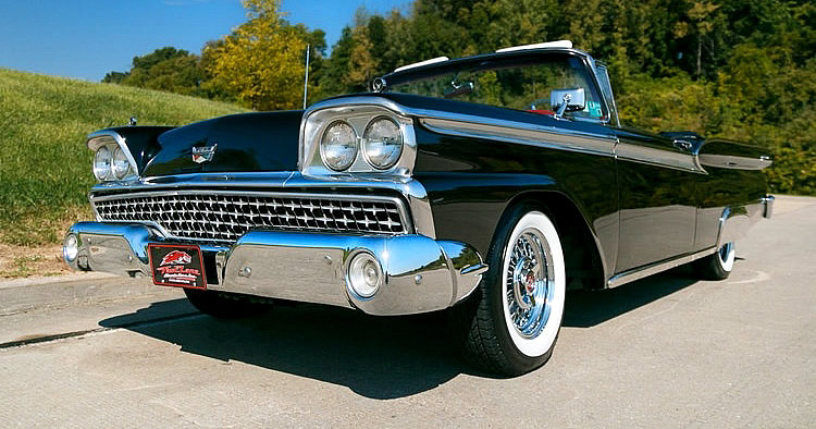 1951 ford sunliner convertible