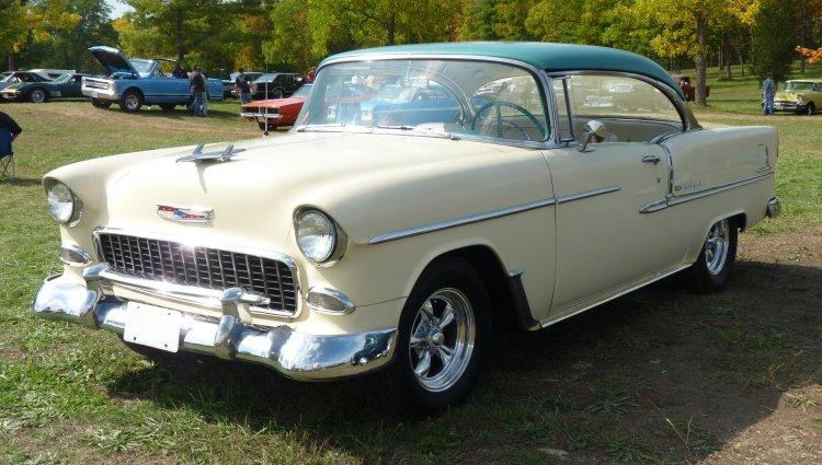 1955 chevrolet tail lights
