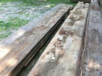 Antique Flooring: 18th Century Wide Board Attic Flooring