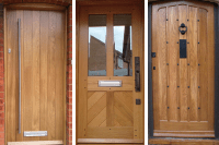 Wooden front doors  high quality & bespoke  Old English ...