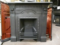 Antique Victorian Fireplace - 076LC - Old Fireplaces