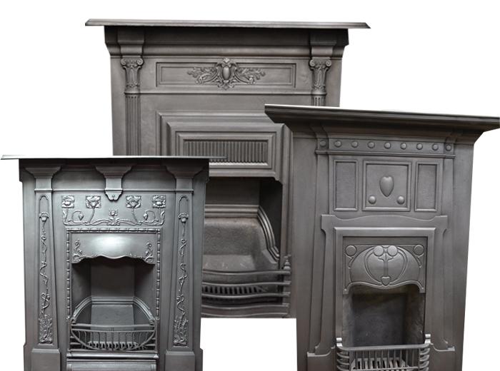 Antique Fireplaces Cast Iron Victorian Fireplace Surrounds