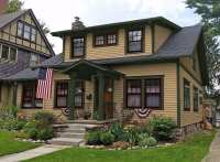 Exterior paint colors craftsman style homes - Home design ...
