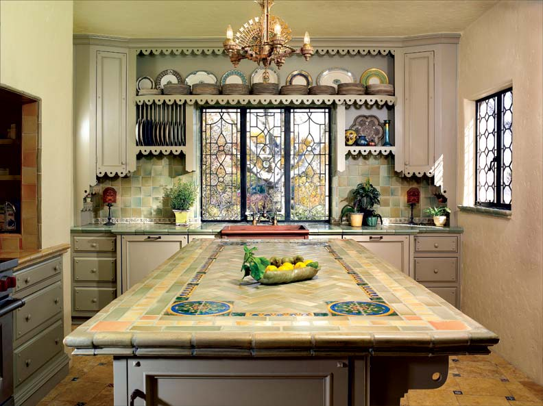 Spanish Kitchen Makeover Restoration Design For The
