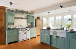 Small Of Country Kitchen Picture
