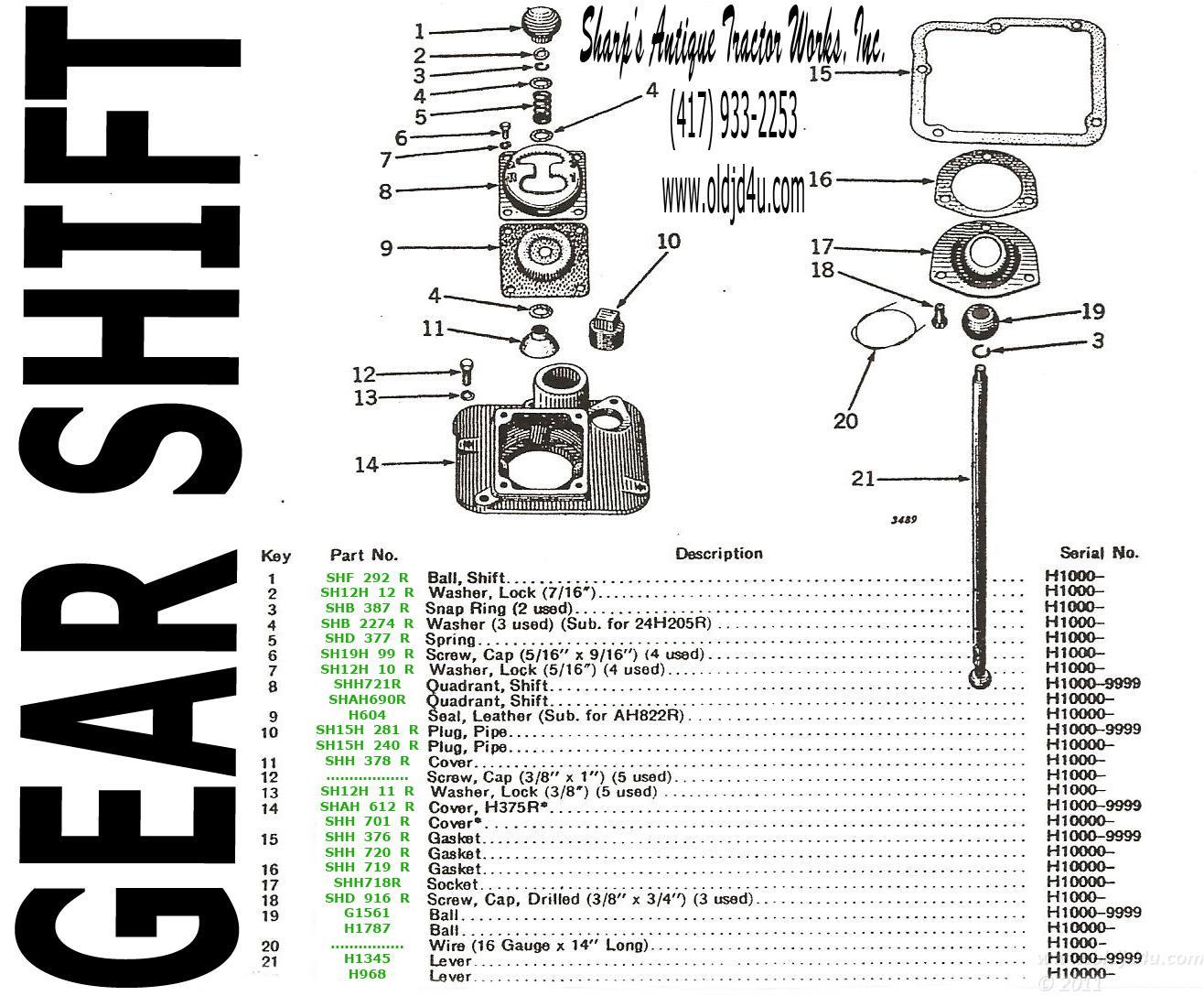 john deere model h wiring diagram