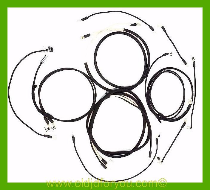 John Deere B Wiring Harness - Simple Wiring Diagram