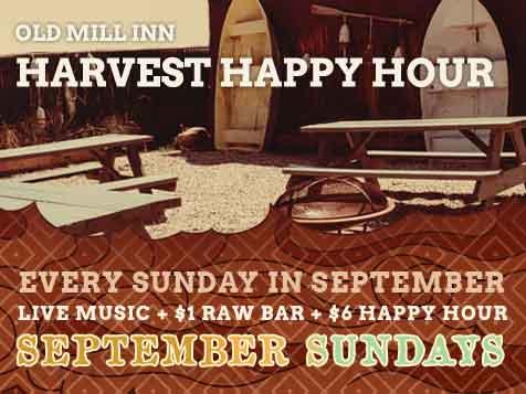 Harvest Happy Hour Sundays