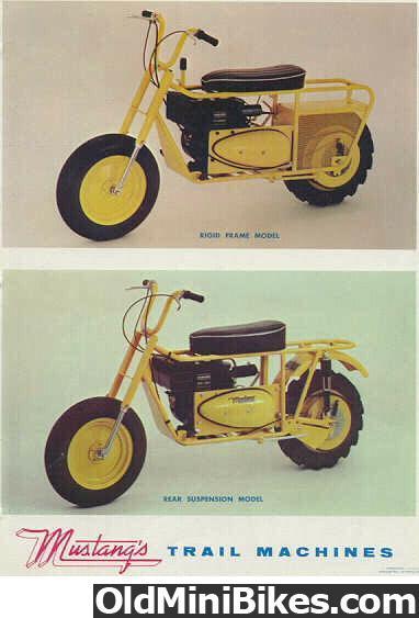 mustang trail machine bike urious
