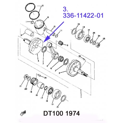 Excellent Powerdynamo For Yamaha Ycs3 Cs3 Rd200 Auto Electrical Wiring Diagram Wiring 101 Cajosaxxcnl