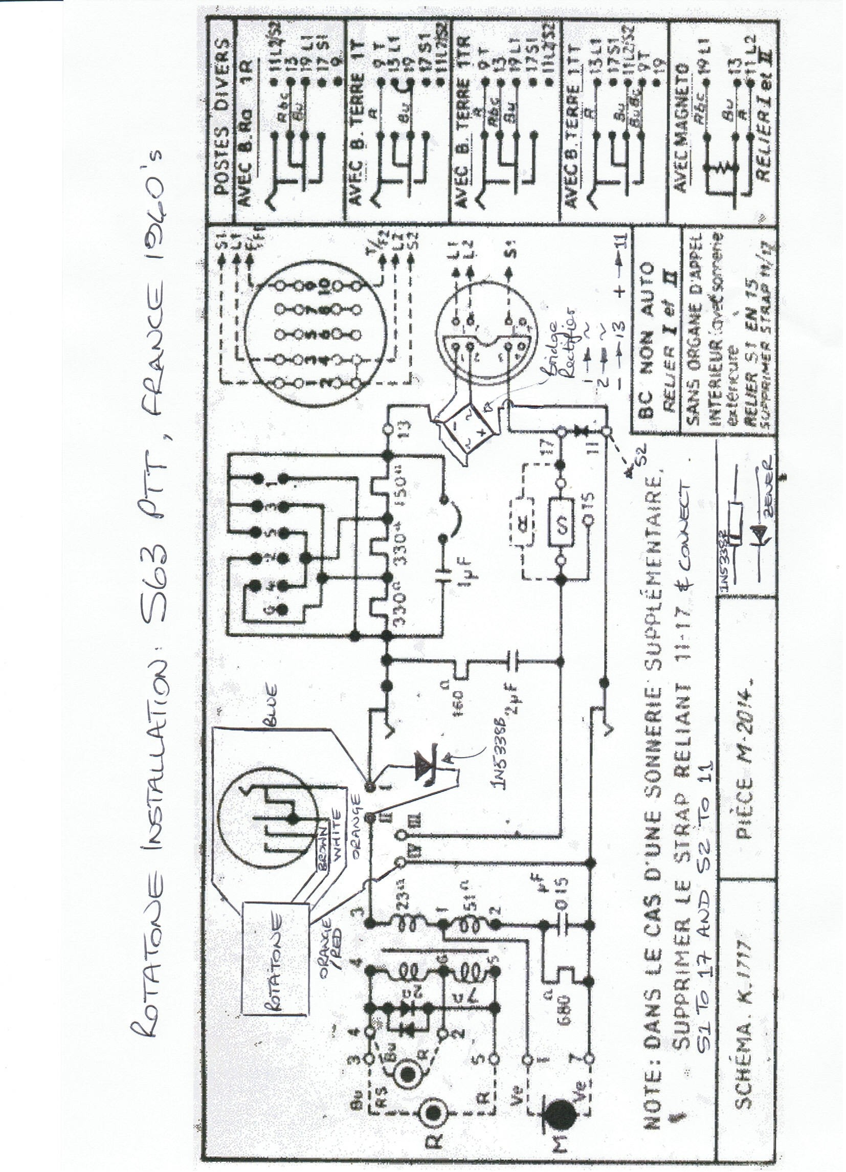 Western Electric 2500 Wiring Diagram Auto Electrical Shr 1 Series Hot Rails Oldphoneworks Antique Phone Parts All Rotatone