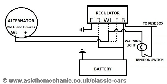 Wiring help dynamo to alternator please - MK1  MK2 ESCORTS - Old