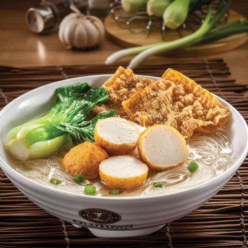 Meehoon Soup with fish Ball(Rp34)