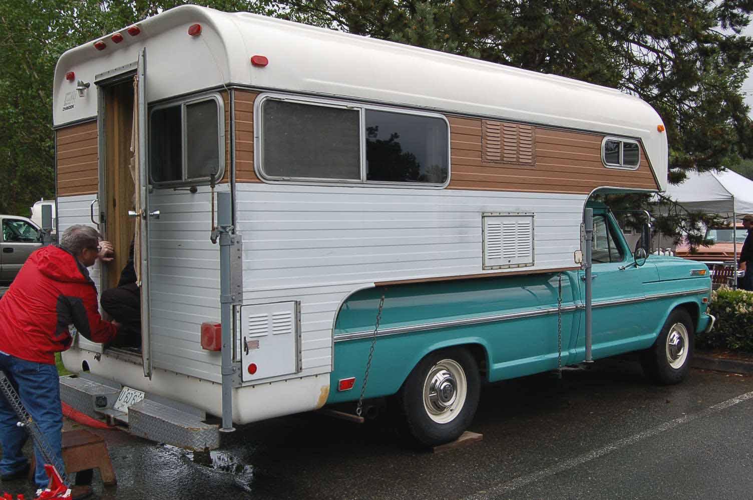Vintage Truck Based Camper Trailers From Oldtrailercom