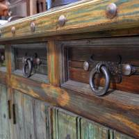 Rustic Cabinet Hardware, Bail Pulls, Iron Cabinet Pull