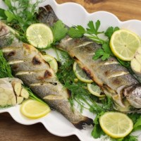 Roasted Whole Trout With Lemon and Herbs