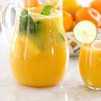Sparkling Citrus Pineapple Punch