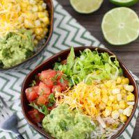 Burrito Bowls + Guacamole Recipe