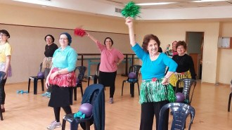 Zumba gold for new immigrant women in Beit Shemesh
