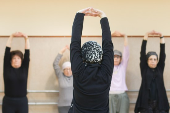 balance exercises for senior women