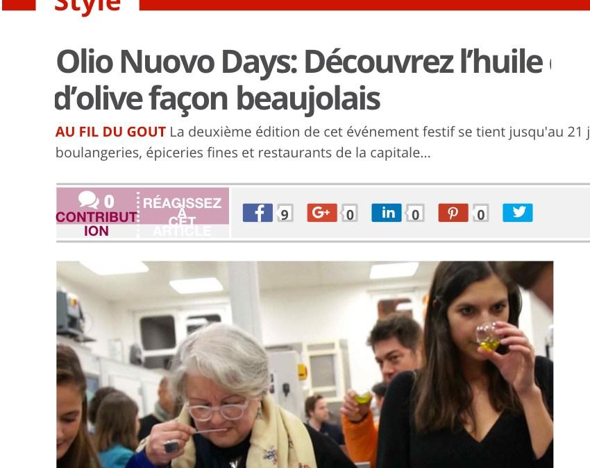 La presse en parle : 20 minutes pour comprendre OLIO NUOVO DAYS