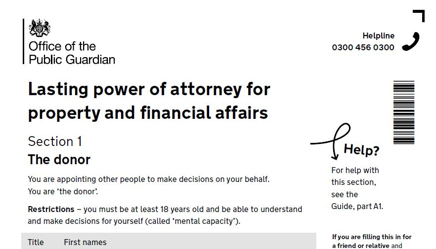 Lasting power of attorney LPA at low cost - Oliver\u0027s Wills Ltd