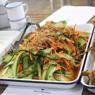 Meatworks - pickled veg salad w balsamic vinegar