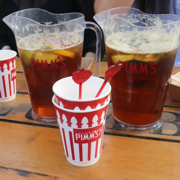Royal Croquet Club Melbourne 2015 - Beverages! Jugs of Pimms