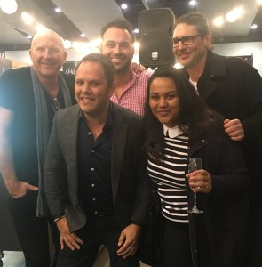 Good Food and Wine Show Melbourne 2016 - Matt Moran, Miguel Maestre, Colin Fassnidge and Alastair McLeod and lil ol' me Olive Sundays.
