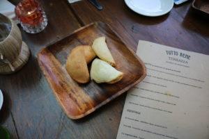 Tutto Bene - Cheesey empanadas