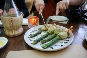 Tutto Bene - Codfish zucchini flowers