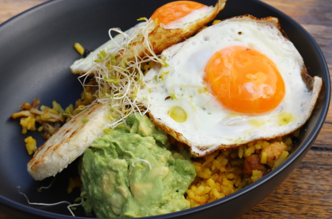 Buenos Dias - Colombian rice