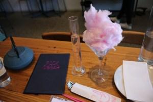 Rock Sugar - fairy floss martini