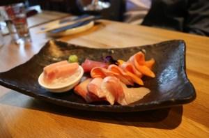 Yokocho - Assorted sashimi