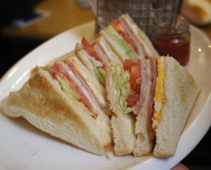 Sweetie and Moustache - Club sandwich