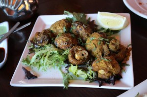 Punjab curry cafe - tandoori mushrooms