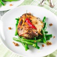 Chicken Thighs Marinated with Tamarind Vinaigrette