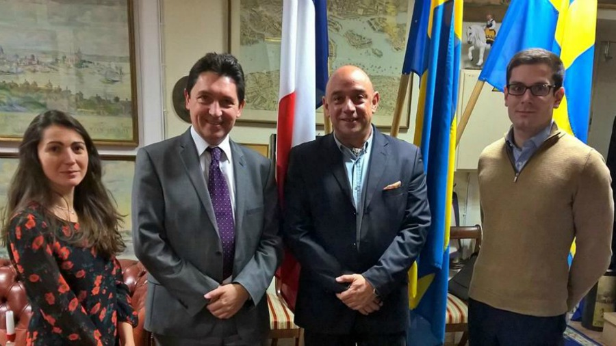 En circonscription en Estonie \u2013 Tallinn / 24 oct 2016 Olivier Cadic - Chambre De Commerce Franco Suedoise