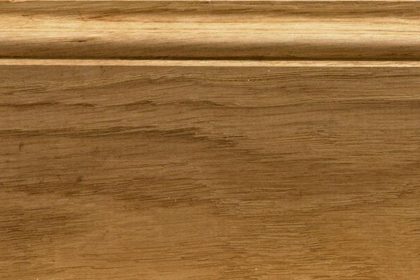 Plinthe En Bois poser des plinthes en bois sans clous plinthe bois - Plinthes Bois A Peindre