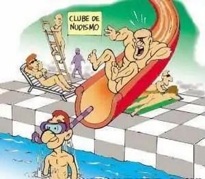 clube de nudismo