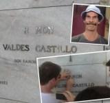 Homenagem ao Seu Madruga e à Bruxa do 71 no cemitério no México