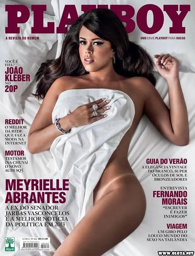 Playboy de Novembro - Meyrielle Abrantes